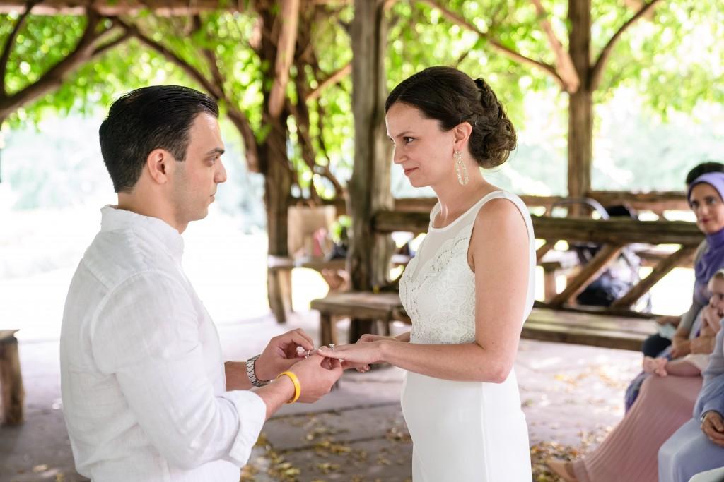 Photo 7 Beautiful  elopement at Cop Cot, Central Park