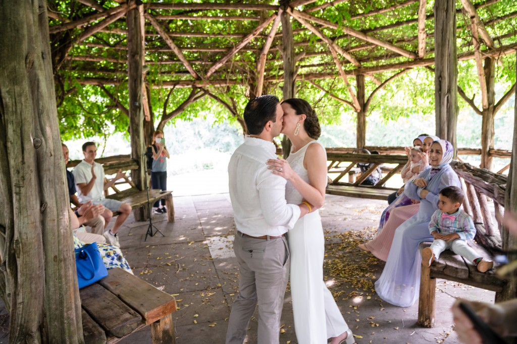 Photo 9 Beautiful  elopement at Cop Cot, Central Park