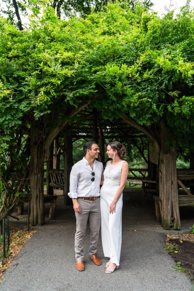 Photo 17 Beautiful  elopement at Cop Cot, Central Park