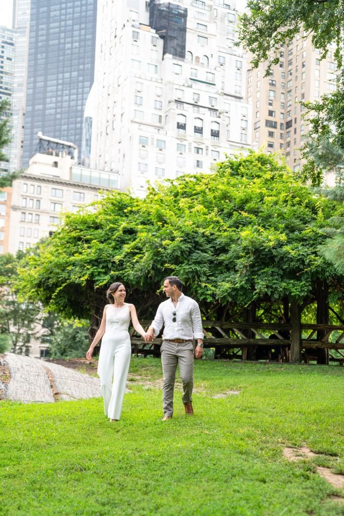 Photo 19 Beautiful  elopement at Cop Cot, Central Park