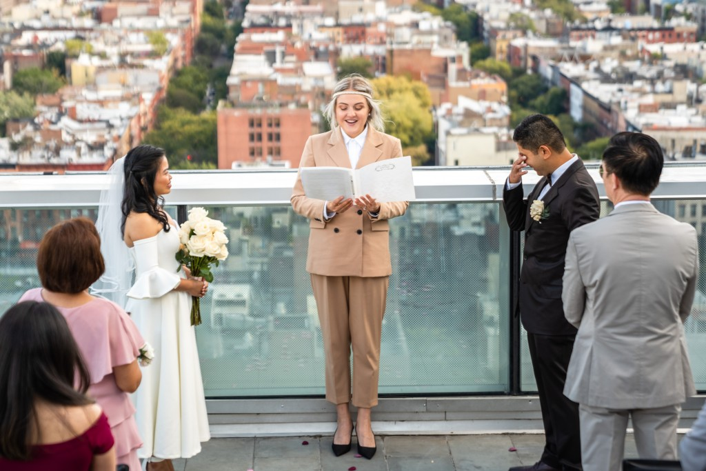 Photo 9 Ryan and Grace penthouse elopement in New York