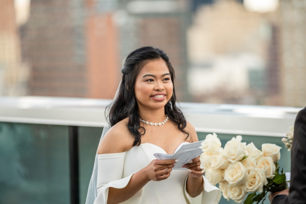 Photo 15 Ryan and Grace penthouse elopement in New York