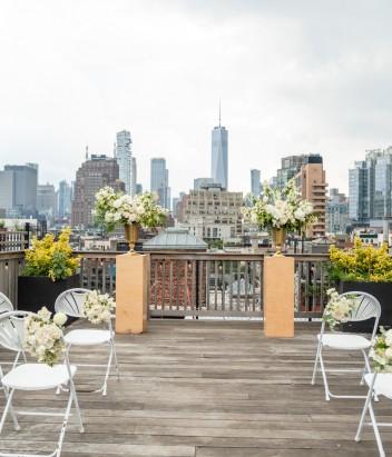 Photo 5 Rooftop Wedding NYC